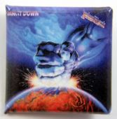 Judas Priest - 'Ram it Down' Square Badge